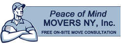 Peace of Mind Movers NY Logo